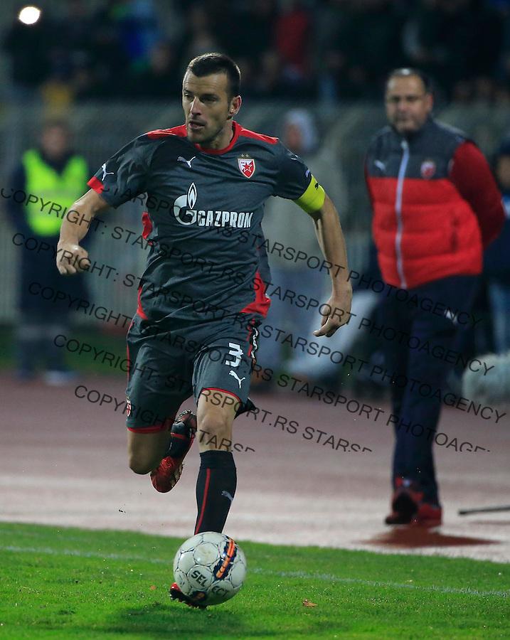 Fudbal Jelen Super League season 2015-2016<br /> Radnicki Nis v Crvena Zvezda<br /> Aleksandar Lukovic (L) and head coach Miodrag Bozovic<br /> Nis, 22.11.2015.<br /> foto: Srdjan Stevanovic/Starsportphoto&copy;