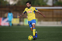 Stelios Demetriou of Haringey who started the season at Macclesfield town during Haringey Borough vs Herne Bay, Emirates FA Cup Football at Coles Park Stadium on 7th September 2019