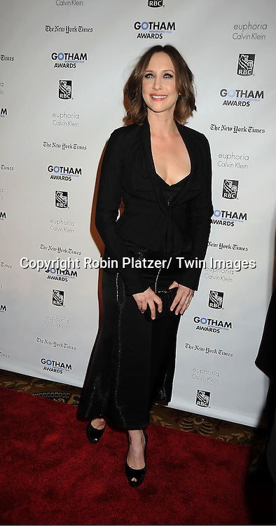 Vera Farmiga attends IFP'S 21st Annual Gotham Independent Film Awards on November 28, 2011 at Cipriani Wall Street in New York City.