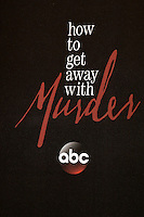 &quot;How To Get Away With Murder&quot; Emblem<br /> at the &quot;How To Get Away With Murder&quot; Season 3 Premiere Screening, Pacific Theater at The Grove, Los Angeles, CA 09-20-16<br /> David Edwards/DailyCeleb.com 818-249-4998