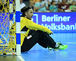 09.06.2019, Max Schmeling Halle, Berlin, GER, DHB,  1.HBL,  FUECHSE BERLIN VS. HSG Wetzlar,<br /> DHB regulations prohibit any use of photographs as image sequences and/or quasi-video<br /> im Bild Silvio Heinevetter (Fuechse Berlin #12)<br /> <br />      <br /> Foto © nordphoto / Engler