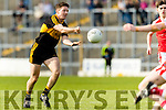 Kieran O'Leary Dr Crokes in action against Dingle in the Senior County Football Semi Final in Fitzgerald Stadium on Sunday.
