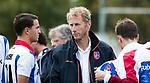 AMSTELVEEN - coach Michiel van der Struijk (SCHC) . Hoofdklasse competitie heren. Pinoke-SCHC (0-1) . COPYRIGHT  KOEN SUYK