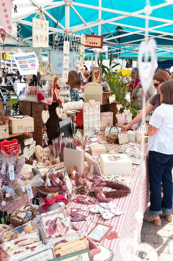 Truro market stall