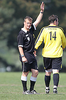 referee in action -  bournemouth league