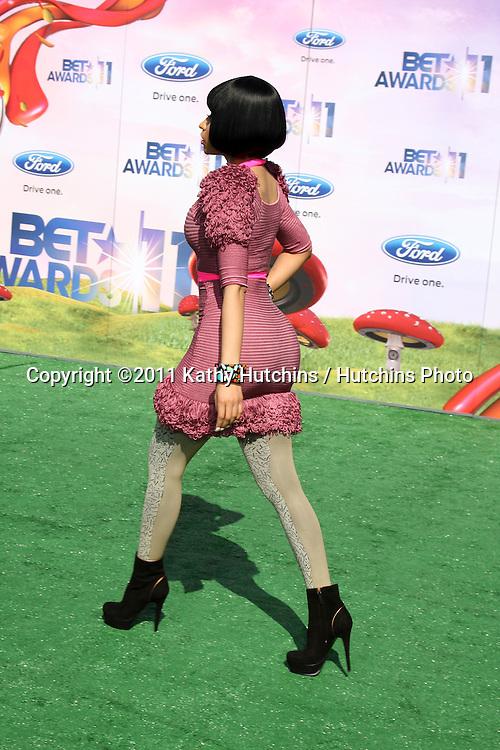LOS ANGELES - JUN 26:  Nicki Minaj arriving at the 11th Annual BET Awards at Shrine Auditorium on June 26, 2004 in Los Angeles, CA