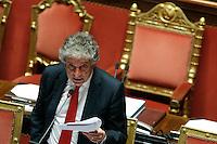 Enrico Morando<br /> Roma 27-04-2016 Senato. Documento di Economia e Finanza.<br /> Photo Samantha Zucchi Insidefoto