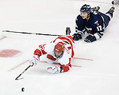 Chris Connolly (BU - 12), Byron Elliott (Toronto - 17) - The Boston University Terriers defeated the visiting University of Toronto Varsity Blues 9-3 on Saturday, October 2, 2010, at Agganis Arena in Boston, MA.