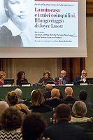 """Joyce Lussu (Antifascist Partizan. Member of the Partigiani: the Italian Resistance during WWII).<br /> <br /> Rome, 23/09/19. The Senate of the Italian Repubblic held the screening of the documentary directed by Marcella Piccinini & narrated by Maya Sansa: """"La Mia Casa E I Miei Coinquilini. Il Lungo Viaggio Di Joyce Lussu"""" (My Home And My Neighbours. The Long Journey Of Joyce Lussu, 1.). From the doc synopsis: «Marco Bellocchio in his interview with Joyce in 1994 talks about her attitude towards life without dreams and illusions, but extremely active, asking her how it's possible to convey the extraordinary things she has lived. […] The period of exile with Emilio Lussu in Paris, the struggles of women in Sardinia, the translations of poets who wrote """"useful poetry"""", the one that comes directly, without too many words to the knowledge of other realities and the feeling. […] But Joyce's travels are not just made up of words: they are above all the stages of her active participation in a common struggle, without distinction of gender, for a more peaceful and just humanity». Joyce Lussu (Born Gioconda Salvadori Paleotti of English origin) was a writer, poet, translator, and a Partisan, Member of the Italian Resistance, with her companion Emilio Lussu (Mr Mill), of the Anti-fascist organization Giustizia e Libertà (2.).<br /> Other guests of the event were: Francesco Verducci MP (Senator of the Democratic Party PD, deputy President of the 7th Senate Commission: Public Education & Cultural Heritage), Valerio Strinati (Parliamentary advisor to the Senate), Marco Bellocchio (Film Director, screenwriter, actor, http://bit.do/fa5Dd), Luciana Castellina (Journalist, writer, politician, honorary President of ARCI, my story: http://bit.do/fa5CE).<br /> <br /> 1. http://bit.do/fa5Gb<br /> 2. Bio: http://bit.do/fa5vx (Wikipedia.org ENG), http://bit.do/fa5Fm (EnciclopediaDelleDonne.it ITA), http://bit.do/fa5FT (ANPI.it ITA)<br /> http://www.joycelussu.info/<br /> Video (RadioRadi"""