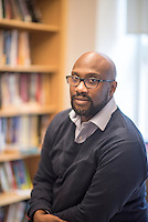 Professor of African-American History Derrick White, Dartmouth College in Hanover, New Hampshire.