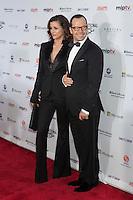 NEW YORK, NY - NOVEMBER 19: Bridget Moynahan and Donnie Wahlberg at the 40th International Emmy Awards in New York. November 19, 2012. © Diego Corredor/MediaPunch Inc. /NortePhoto