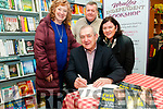 "Book Launch : Pictured at the launch of Eoin Hand's Book ""First Hand"" at Woulfe's book shop in Listowel on Saturday last were Carol Strich, Joe Lane & Jean Allen with Eoin Hand."