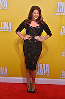 NASHVILLE, TN - NOVEMBER 1: Hillary Scott on the Macy's Red Carpet at the 46th Annual CMA Awards at the Bridgestone Arena in Nashville, TN on Nov. 1, 2012. © mpi99/MediaPunch Inc. /NortePhoto