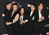 """2/24/2018 - Hollywood:  100th Episode Celebration of ABC's """"Marvel's Agents of S.H.I.E.L.D."""""""