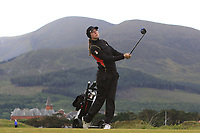 Polly Mack (GER) on the 2nd tee during Round 2 of the Women's Amateur Championship at Royal County Down Golf Club in Newcastle Co. Down on Wednesday 12th June 2019.<br /> Picture:  Thos Caffrey / www.golffile.ie