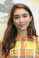 11 June 2017 - Los Angeles, California - Rowan Blanchard. Children Mending Hearts' 9th Annual Empathy Rocks held at Private Residence in Los Angeles. Photo Credit: Birdie Thompson/AdMedia