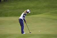 Danielle Kang of Team USA on the 2nd green during Day 2 Foursomes at the Solheim Cup 2019, Gleneagles Golf CLub, Auchterarder, Perthshire, Scotland. 14/09/2019.<br /> Picture Thos Caffrey / Golffile.ie<br /> <br /> All photo usage must carry mandatory copyright credit (© Golffile | Thos Caffrey)