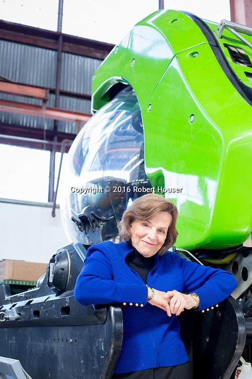 Portrait of Sylvia Earle