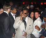 Ashton Kutcher, Sean P. Diddy Combs &amp; Jamie Foxx<br />