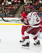 Holden Anderson (Cornell - 6), Devin Tringale (Harvard - 22) - The Harvard University Crimson defeated the visiting Cornell University Big Red on Saturday, November 5, 2016, at the Bright-Landry Hockey Center in Boston, Massachusetts.
