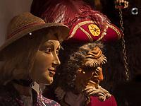 geschnitzte Maske  im Haus der Fastnacht,  immaterrielles UNESCO Weltkulturerbe Imster Fastnacht, Imst, Tirol, &Ouml;sterreich, Europa<br /> carved mask, house of Fastancht, Imst, Tyrol, Austria, Europe, UNESCO  intangible cultural heritagegeschnitzte Maske und Tracht im Haus der Fastnacht,  immaterrielles UNESCO Weltkulturerbe Imster Fastnacht, Imst, Tirol, &Ouml;sterreich, Europa<br /> carved mask and costume, house of Fastancht, Imst, Tyrol, Austria, Europe, UNESCO  intangible cultural heritage