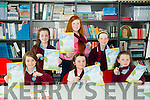 Scriobh Leabhar annual awards for Kerry schools at The Education Centre, Drumtacker on Monday. Pictured Front l-r  Sarah Moran, Sarah Dineen and Collen Angland. Back l-r  Grace Angland, Caitlyn Cronin and Heather Cullotty from Knockanes NS Killarney