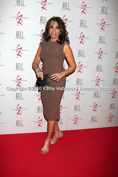 Kate Linder.arrivng at The Young & The Restless 37th Anniversary Dinner.Via Allorro.Beverly Hills, CA.March 9, 2010.©2010 Kathy Hutchins / Hutchins Photo....