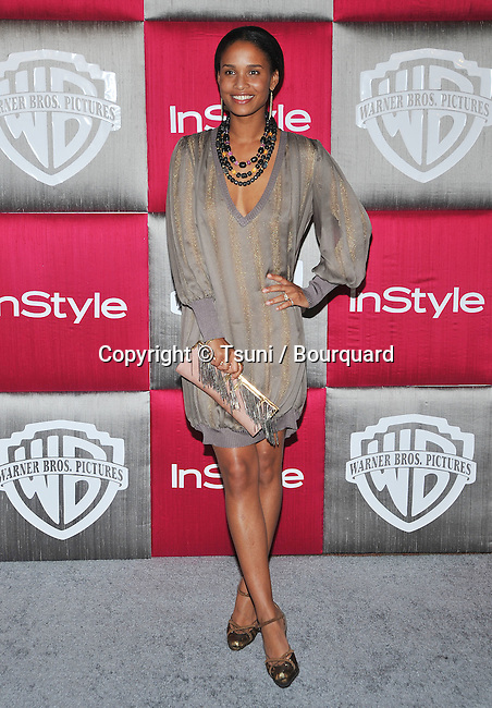 Joy Bryant -<br /> In Style Party after the Golden Globe Awards at the Beverly Hilton in Los Angeles.