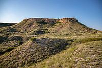 Point of Rocks in the Cimarron National Grassland in western Kansas.