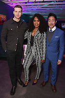 LOS ANGELES, CA - FEBRUARY 6:  Oliver Stark, Angela Bassett and Kenneth Choi attends the FOX Winter TCA 2019 All Star Party at The Fig House on February 6, 2019 in Los Angeles, California. (Photo by Stewart Cook/Fox/PictureGroup)