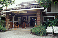The Hotel Villa Paraiso on Isla de Ometepe, Nicaragua