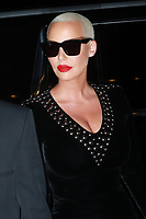 NEW YORK, NY - SEPTEMBER 9: Amber Rose at the 2017 Harper's Bazaar Icons at The Plaza Hotel on September 9, 2017 in New York City. <br /> CAP/MPI/DC<br /> &copy;DC/MPI/Capital Pictures