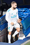 Real Madrid's Daniel Carvajal during XXXVIII Santiago Bernabeu Trophy at Santiago Bernabeu Stadium in Madrid, Spain August 23, 2017. (ALTERPHOTOS/Borja B.Hojas)