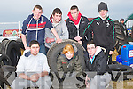 TYRES: Checking out the tyres at the Abbeydorney Ploughing Competition on Corridon Family Land,Abbeydorney on Sunday.Front l-r: Ryan Freeman O'Brien, Jade Maunsell and Aaron Conway. Back l-r: Mark Baker, Adam Buckley, Declan O'Connor and Patrick Mahony (Abbeydorney).