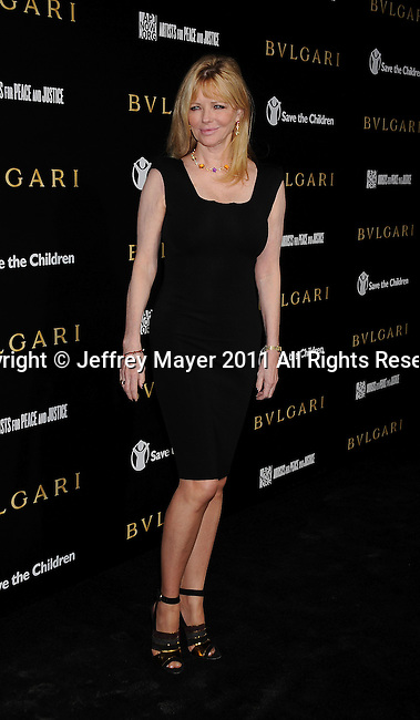 LOS ANGELES, CA - January 13: Cheryl Tiegs attends Save The Children's U.S. Programs And Artists For Peace And Justice Hosted By Bulgari at Ron Burkle's Green Acres Estate on January 13, 2011 in Beverly Hills, California.