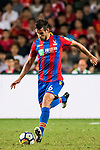 Crystal Palace defender Scott Dann in action during the Premier League Asia Trophy match between Liverpool FC and Crystal Palace FC at Hong Kong Stadium on 19 July 2017, in Hong Kong, China. Photo by Weixiang Lim / Power Sport Images