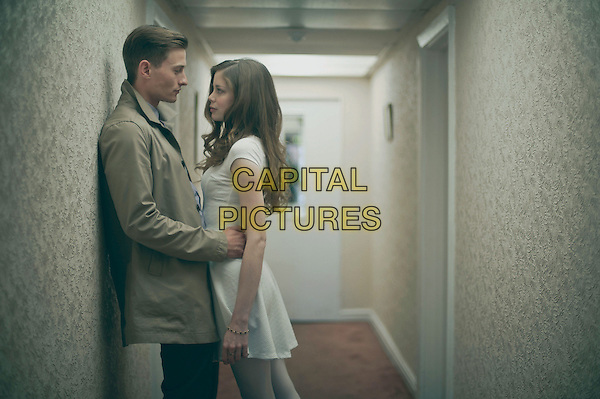 Elliott Tittensor, Charlotte Hope <br /> in North v South (2015)  <br /> *Filmstill - Editorial Use Only*<br /> CAP/NFS<br /> Image supplied by Capital Pictures