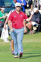 Jon Rahm (ESP) acknowledges the gallery after putting up close on 7 during round 6 of the World Golf Championships, Dell Technologies Match Play, Austin Country Club, Austin, Texas, USA. 3/26/2017.<br /> Picture: Golffile | Ken Murray<br /> <br /> <br /> All photo usage must carry mandatory copyright credit (&copy; Golffile | Ken Murray)
