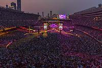 Grateful Dead Concert at Chicago's Soldier Field. 4 July 2015.