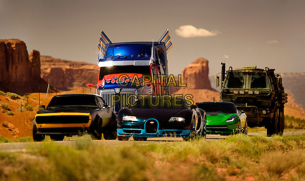 The Autobots <br /> in Transformers: Age of Extinction (2014) <br /> *Filmstill - Editorial Use Only*<br /> CAP/FB<br /> Image supplied by Capital Pictures