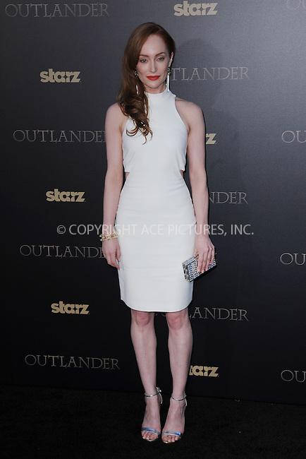 WWW.ACEPIXS.COM<br /> April 1, 2015 New York City<br /> <br /> Lotte Verbeek attending STARZ Original series &ldquo;Outlander&rdquo; celebration of &ldquo;Droughtlander&rdquo; at a special premiere screening of &ldquo;The Reckoning&rdquo; at The Ziegfeld Theater on  April 1, 2015 in New York City.<br /> <br /> Please byline: Kristin Callahan/AcePictures<br /> <br /> ACEPIXS.COM<br /> <br /> Tel: (646) 769 0430<br /> e-mail: info@acepixs.com<br /> web: http://www.acepixs.com