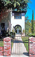 Irving Gill: Teats Cottage #2. 3415 Albatross, San Diego. 1912. Photo '76.