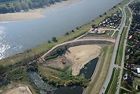 Altengammer Hauptdeich Deichbau: EUROPA, DEUTSCHLAND, HAMBURG 20.09.2014: Altengammer Hauptdeich Deichbau, Borghorster Elbwiesen