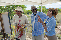 JUST GETTING STARTED (2017)<br /> TOMMY LEE JONES, MORGAN FREEMAN, RENE RUSSO<br /> *Filmstill - Editorial Use Only*<br /> CAP/FB<br /> Image supplied by Capital Pictures