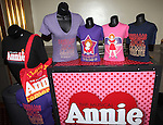 Annie Merchandise at the Broadway Opening Night Performance of 'Annie' at the Palace Theatre in New York City on 11/08/2012