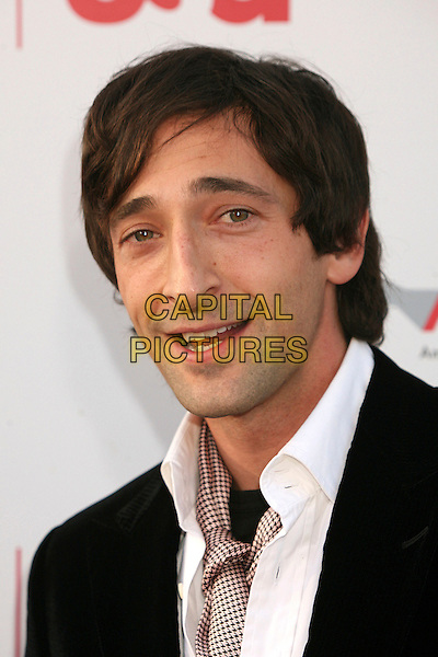 ADRIEN BRODY.35th Annual AFI Life Achievement Award Honoring Al Pacino at the Kodak Theatre, Hollywood, California, USA.7 June 2007..portrait headshot scarf.CAP/ADM/BP.©Byron Purvis/AdMedia/Capital Pictures.
