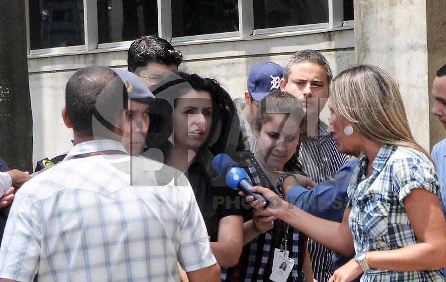 Santo Andre, SP,14 FEVEREIRO 2012-Advogada Ana Lucia de Lindemberg retorna  ao Forum de Santo Andre durante o julgamento de Lidemberg na manha dessa terça feira.. (FOTO: ADRIANO LIMA - NEWS FREE).