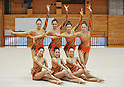 Japanese Rhythmic Gymnastics Team FAIRY JAPAN POLA