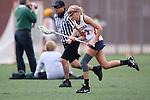 Santa Barbara, CA 02/18/12 - Sarah Fuchs (Arizona #11) in action during the Santa Clara-Arizona game at the 2012 Santa Barbara Shootout.  Santa Clara defeated Arizona 18-9.