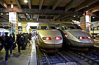 Montparnasse main line railway station Paris..©shoutpictures.com.john@shoutpictures.com